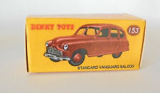 REPRO BOX DINKY n. 153 Standard Vanguard Saloon rosso scuro o marrone