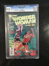 WONDER WOMAN # 2 / The new 52! / CGC Universal 9.8 /  December 2011 / DC COMICS