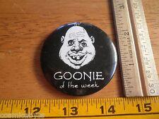 """Goonies 1985 lot of 2 pinback buttons licensed 2"""" Vintage Goonie"""