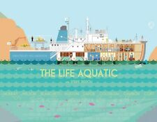 The Life Aquatic Wes Anderson Alternative Movie Poster by Alan Segama NT Mondo