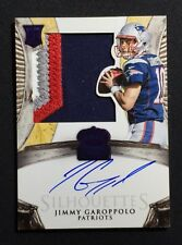 2014 Crown Royale Jimmy Garoppolo Silhouettes RPA Auto 13/25 Rookie Autograph