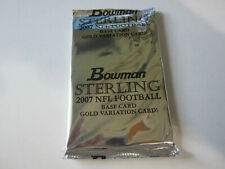 2007 Bowman Stering Football Gold Variation Card Unopened Pack