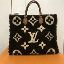 Louis Vuitton OnTheGo GM Tote Bag Monogram Teddy M55420 Brown Auth Receipt