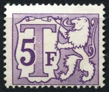 Belgium 1966-82 SG#D1985, 5f Postage Due Ord. Paper MNH #D48285