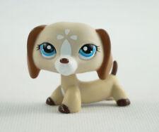 Littlest Pet Shop LPS605 Toys Dachshund Dog Chien Teckel Puppy Blue  Eyes