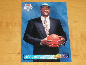 1992-93 Upper Deck NBA Draft #2 Alonzo Mourning Rookie RC