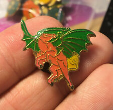 Pegasus enamel pin vintage Nos Demon horse wings greek myth new hat lapel 80s