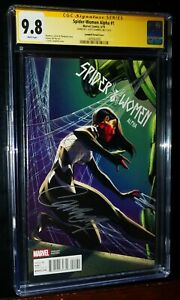 SPIDER-WOMAN ALPHA #1 Signature Series Campbell Variant Cover 2016 CGC 9.8 NM/MT