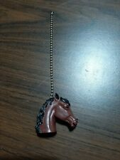 Horse Head Riding Horsey Equestrian Decor Ceiling Fan or Light Pull