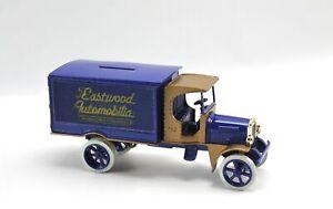 Eastwood Automobilia 1925 Kenworth Van Diecast Coin Bank Ertl 1993 1:25