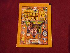 Merlin Premier League Unopened Sticker Pack Packet 98 1998 Rare