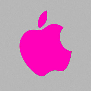 Neon Pink Color Changer Overlay for All Macbook Models Air Retina Pro