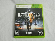 XBOX 360 Battlefield 3 Game Online Interaction Action Mature 2 Disc set FREE S&H