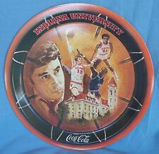 Coca Cola Coke Tray 1976 Indiana University NCAA Basketball Championship