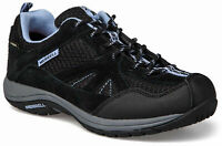 LADIES MERRELL ZEOLITE UNA GTX BLACK LEATHER GORE-TEX HIKING TRAIL SHOES UK 4-8