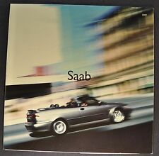 2002 Saab Sales Brochure Folder 9-3 9-5 Excellent Original 02