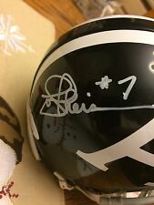 Joe Theismann Toronto Argonauts Autographed CFL Football Mini-Helmet w/JSA