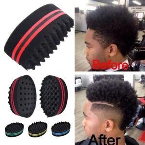 Salon Curly Hair Magic Sponge Brush Honeycomb Soft Sponge Brush for Hairdressers