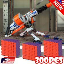 Purple 7.3cm 300PCS Refill Bullet Darts for Nerf toy Gun N-strike Elite Series