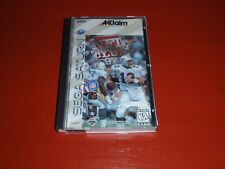 NFL Quarterback Club 97 (Sega Saturn, 1997) -Complete