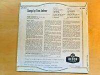 SONGS BY TOM LEHRER - LP