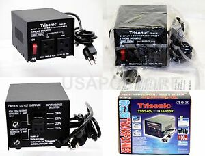 new 100w watt step up/down voltage converter transformer 110v to 220v adapter