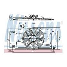 Fits Ford Focus C-Max 1.6 Ti Genuine Nissens Engine Cooling Radiator Fan