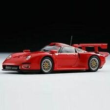 Original Kyosho 1/64 Porsche 911GT1 1996 / Red (japan import)