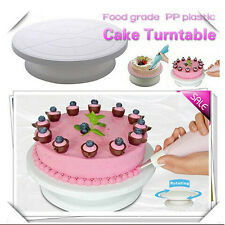 Cake Decorating Turntable Revolving Cake Stand Piping Turning Table Baking Tool