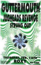 Guttermouth POSTER Jugheads Revenge Strung Out Roxy Artist M Getz Punk Rock