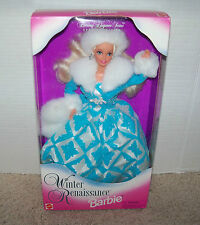 Winter Renaissance Barbie Evening Elegance Series 1996 #15570 NRFB