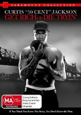 GET RICH OR DIE TRYIN' 50 Cent (DVD, 2006) NEW
