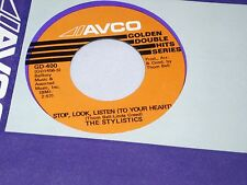 Stylistics: Stop, Look, Listen (with your heart) / You Are Everything [Unplayed]