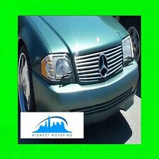 1990-2002 MERCEDES SL R129 CHROME GRILLE TRIM 90 91 92 93 94 95 96 97 98 99 00