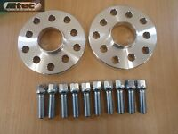 2x MTEC VW Golf Hubcentric 5 hole 30mm Wheel SpacerS & Radius Bolts 5x100/112