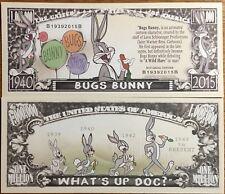 Bugs bunny million dollar bill ( Warner bros )