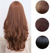 Women Long Curly Wavy Full Wig Heat Resistant Hair Cosplay Party Lolita Grace.