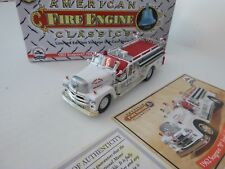 Corgi, 1962 Seagrave 70th Anniv. Series 900-B, River Edge, NJ, 1:50, Diecast