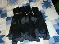 MediPEDS 8 Pair Diabetic Crew Socks with Non-Binding Top Black