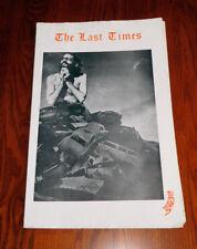 LAST TIMES 1967 Underground Newspaper R CRUMB Bukowski BURROUGHS Huncke GINSBERG