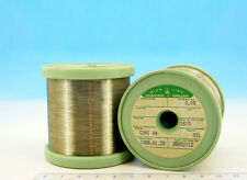 200ft 60m SPOOL E ISOTAN Constantan 42AWG 0.06mm 0,06 173 Ωm Resistance WIRE