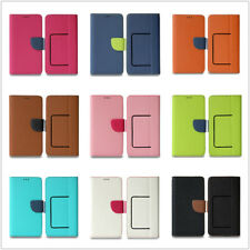 """Universal Case for 4.9~5.2"""" Cell Phone Folding Flip Wallet Lid Protective Case"""