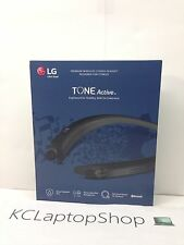 New LG TONE Active HBS-a80 Bluetooth Headset - Black - IPX5 Water Resistant
