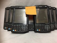Motorola Symbol Mc5040 Series Scanner Lot Of 9 For Parts/Repair W/Accessory