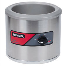 Nemco 6100A 7Qt Counter Top Round Warmer 550w