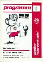 Programmheft, BFC Dynamo - FC Carl Zeiss Jena, Oberliga-Heim-Punktspiel 1983 /21