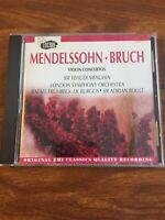 Mendelssohn, Bruch: Violin Concertos (CD, Jul-1994, EMI Classics)