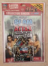 Topps SLAM ATTAX Trading card game evolution. Collector binder NEUF SOUS BLISTER