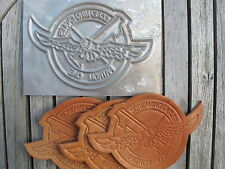 US Navy Screaming Eagles Patron One Leather Patch Clicker Embossing Plate