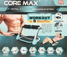 CORE MAX Total Body Training System Arms Chest Abs Buns Legs